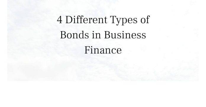 Types of bonds in business finance-Canadatousd