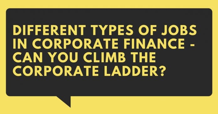 Types of Jobs in Corporate Finance - Canadatousd