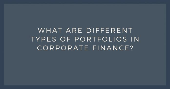 Types of portfolios in corporate finance - Canadatousd