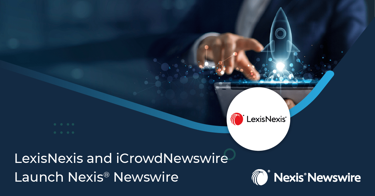 LexisNexis and icrowdnewswire