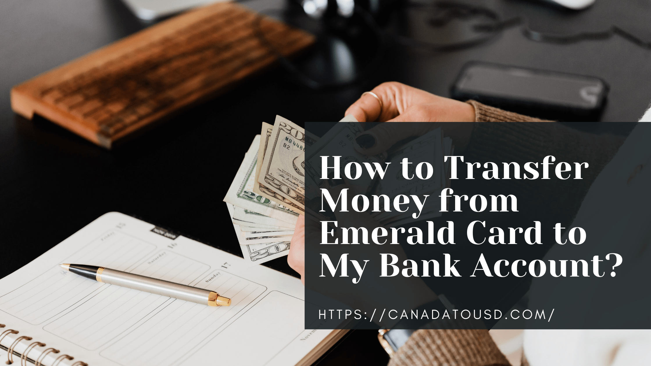 How to Transfer Money from Emerald Card to My Bank Account